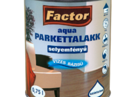 FACTOR Aqua parkettalakk